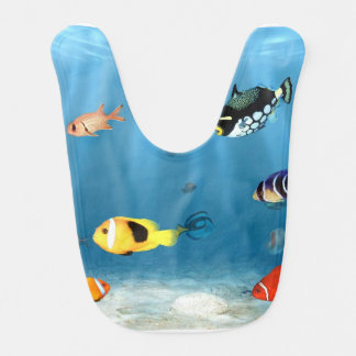 Fish In The Ocean Bib