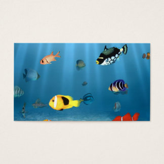 Fish In The Ocean Business Card