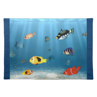 Fish In The Ocean Placemat