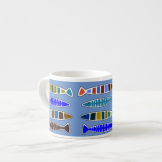 Fish in the Sea Nautical Coastal Espresso Cup