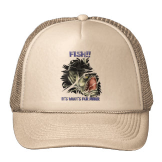 Fish...It's What's For Dinner Hat