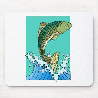 Fish Jumping Mousepad