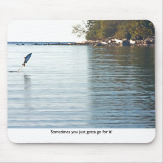 Fish Jumping Out of Water Mouse Mat