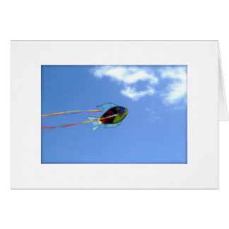 Fish Kite Greeting Card