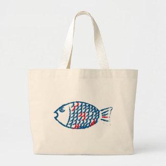 Fish Large Tote Bag