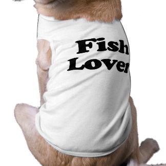 Fish Lover Doggie Tshirt