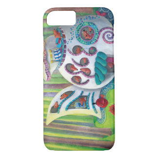 Fish Magical  Mansion in the Forest iPhone 8/7 Case