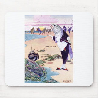 Fish Maitre D at the Lobster Quadrille Mouse Pad