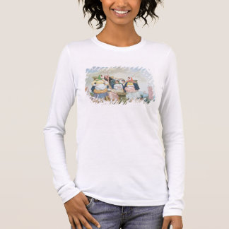 Fish Market by the Sea, c.1860 (oil on canvas) Long Sleeve T-Shirt