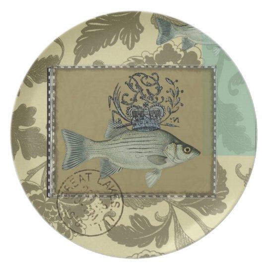 Fish - Melamine Plate