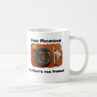 Fish Michigan, It's What's ... Coffee Mug