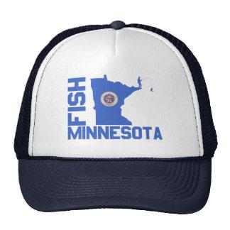 Fish Minnesota Cap