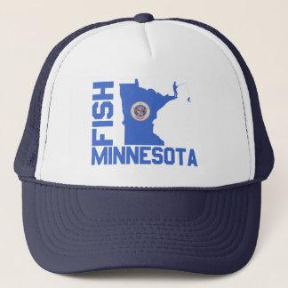 Fish Minnesota Trucker Hat