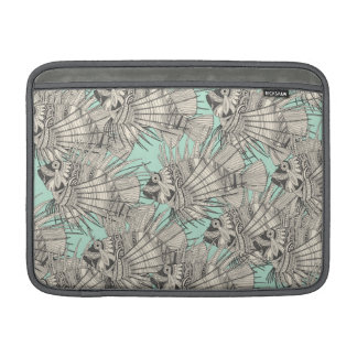 fish mirage mint sleeve for MacBook air