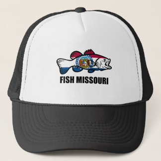 Fish Missouri Trucker Hat