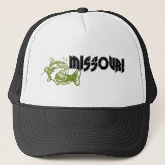 FISH MISSOURI VINTAGE LOGO TRUCKER HAT