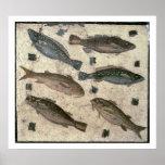 Fish (mosaic) poster