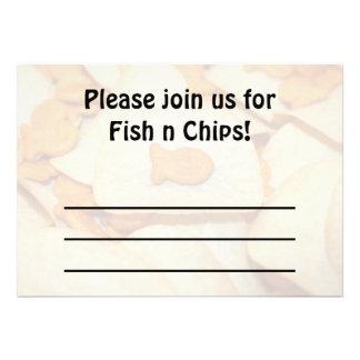 Fish 'N Chips Custom Announcements
