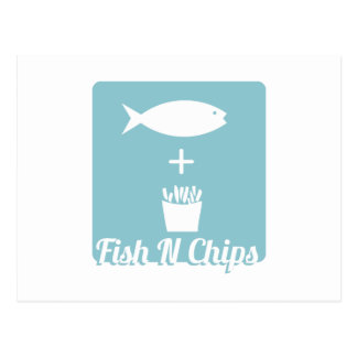 Fish N Chips Post Cards