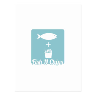 Fish N Chips Postcards