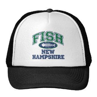 Fish New Hampshire Trucker Hats
