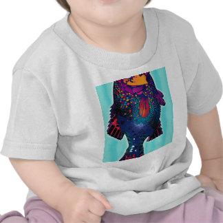 Fish Object Cartoon Animal Fun Kids Style Fashion T Shirt