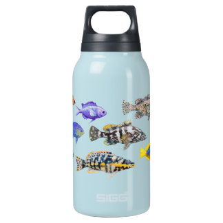 Fish of the Atlantic Insulated Water Bottle
