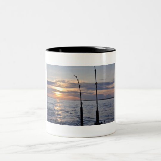 Fish On! Two-Tone Coffee Mug
