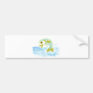 Fish Out of Water Bumper Sticker