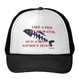 FISH OUT OF WATER CAP