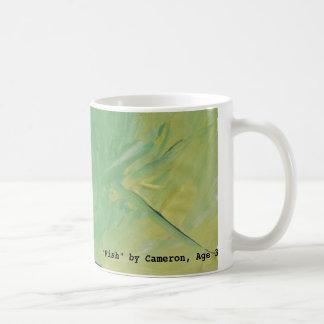 """Fish"" Painting by Cameron, Age 3 Coffee Mug"