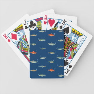 Fish Pattern Bicycle Playing Cards