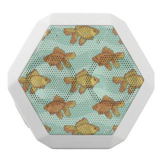 Fish-pattern White Boombot Rex Bluetooth Speaker