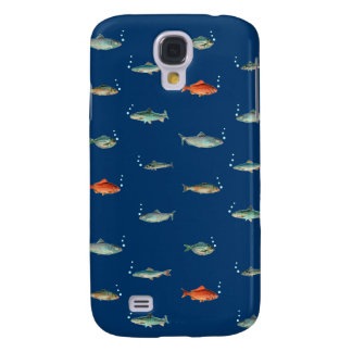 Fish Pattern Galaxy S4 Case