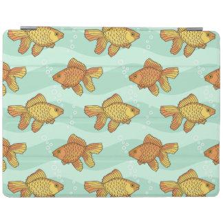 Fish-pattern iPad Cover