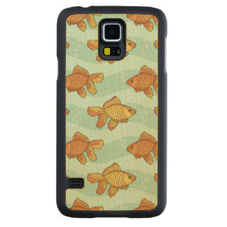 Fish-pattern Maple Galaxy S5 Case