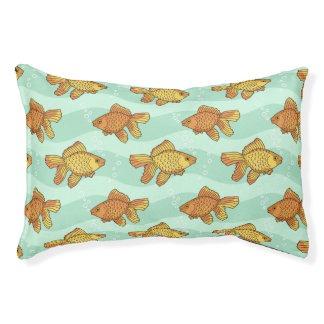 Fish-pattern Pet Bed