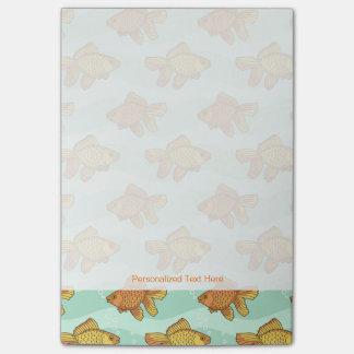 Fish-pattern Post-it Notes