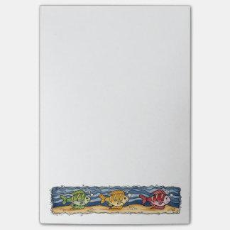 Fish Post-it Notes