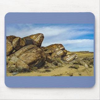 Fish Rocks-Trona Mouse Pad