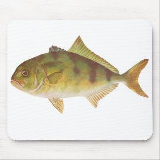 Fish - Samson-Fish - Seriola hippos Mouse Mat