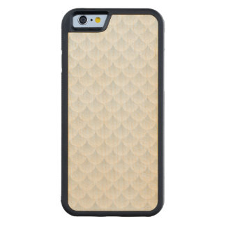 fish scale abstract vector background carved maple iPhone 6 bumper case