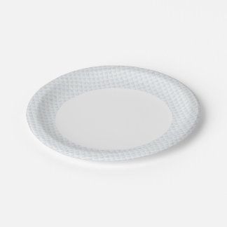 fish scale abstract vector background paper plate