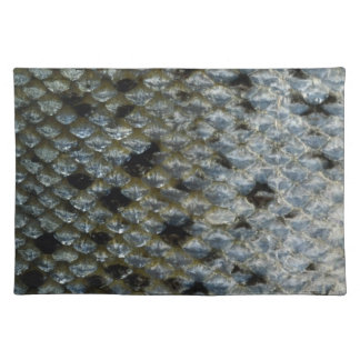 Fish Scales 2 Place Mats