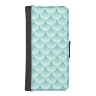 Fish Scales Pattern iPhone SE/5/5s Wallet Case