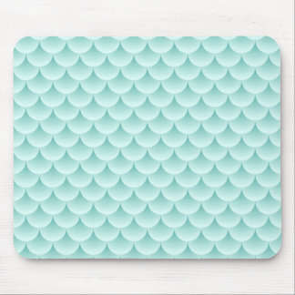 Fish Scales Pattern Mouse Mat