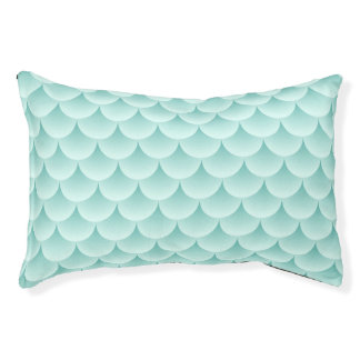 Fish Scales Pattern Pet Bed