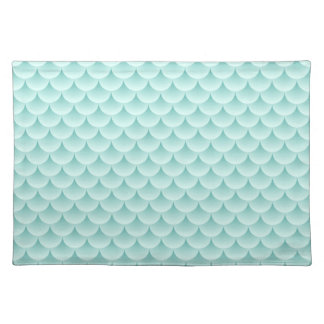 Fish Scales Pattern Placemat