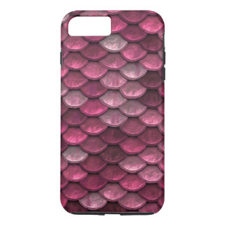Fish Scales Pattern Shimmer Pinks iPhone 8 Plus/7 Plus Case