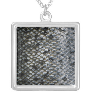 Fish Scales Silver Plated Necklace